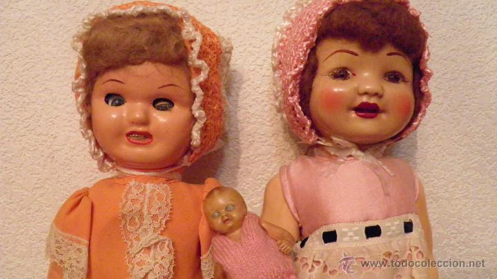 Muñeca española clasica: DOS VIEJAS MUÑECAS ESPAÑOLAS. VER IMAGENES, 40 CMS. APROX. - Foto 11 - 51348746