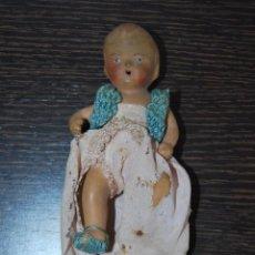 Muñeca española clasica: MUÑECA DE BARRO O TERRACOTA - MUÑECO - PRINCIPIOS SIGLO XX. Lote 51592394