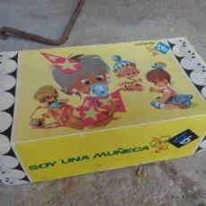 Muñeca española clasica: MUÑECA CAJA DE CARTON ORIGINAL MUÑECAS BB CANDELITA ROSA EN BUEN ESTADO. Lote 51764629