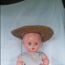 Muñeca española clasica: ANTIGUO MUÑECO MARCA HERCULES. 50 CM. PLÁSTICO DURO.. Lote 52526418