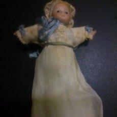 Muñeca española clasica: * ANTIGUO MUÑECO DE BAUTIZO ESPAÑOL. MARCADO 18/0. Lote 52601044