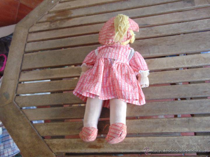 Muñeca española clasica: MUÑECA MARI PEPA MENDOZA O SIMILAR DE LA EPOCA OJOS CON MOVIMIENTO HACIA LOS LADOS CONJUNTO ORIGINAL - Foto 12 - 52667534