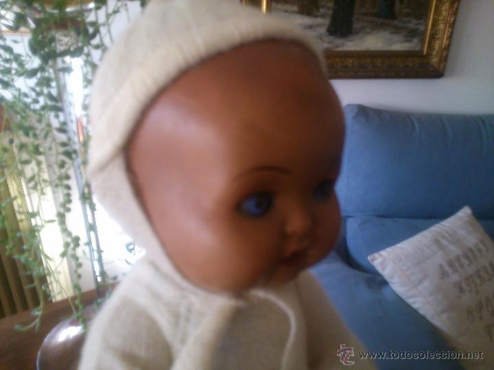 Muñeca española clasica: * ANTIGUO BEBÉ DE TERRACOTA CON CUERPO DE TRAPO.MARCADO: B 2 - Foto 9 - 52676350