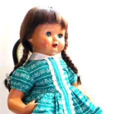 Muñeca española clasica: MUÑECA CARTÓN PIEDRA, PERFECTO ESTADO - AÑOS 40 - CREADA EN MUÑECAS FLORIDO. Lote 52826561