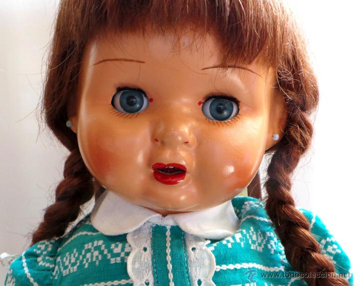 Muñeca española clasica: MUÑECA CARTÓN PIEDRA, PERFECTO ESTADO - AÑOS 40 - CREADA EN MUÑECAS FLORIDO - Foto 2 - 52826561