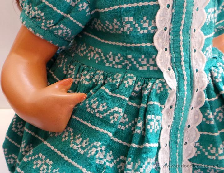 Muñeca española clasica: MUÑECA CARTÓN PIEDRA, PERFECTO ESTADO - AÑOS 40 - CREADA EN MUÑECAS FLORIDO - Foto 3 - 52826561