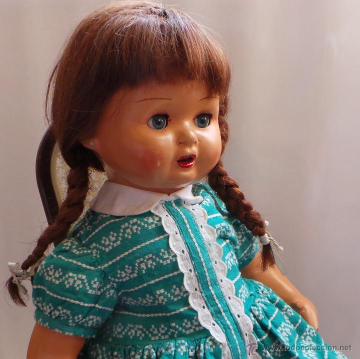 Muñeca española clasica: MUÑECA CARTÓN PIEDRA, PERFECTO ESTADO - AÑOS 40 - CREADA EN MUÑECAS FLORIDO - Foto 8 - 52826561