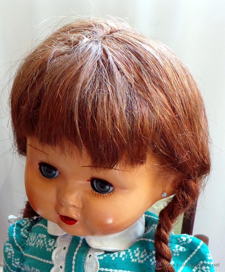 Muñeca española clasica: MUÑECA CARTÓN PIEDRA, PERFECTO ESTADO - AÑOS 40 - CREADA EN MUÑECAS FLORIDO - Foto 9 - 52826561