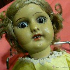 Muñeca española clasica: MUÑECA CARTON PIEDRA. Lote 52966348