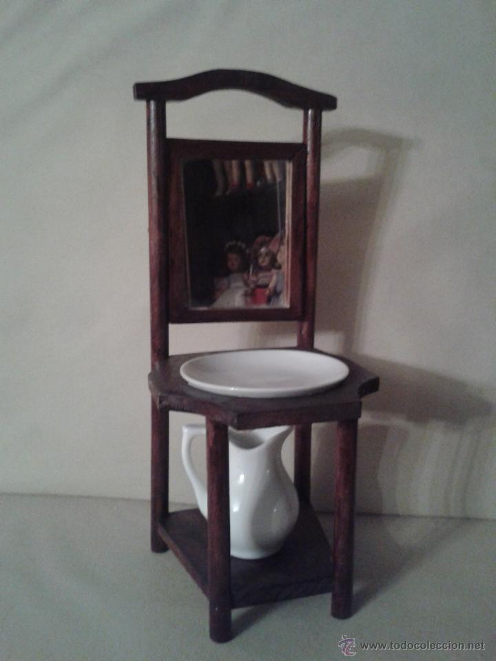 Precioso mueble lavabo antiguo para dormitorio comprar for Coquetas muebles dormitorio