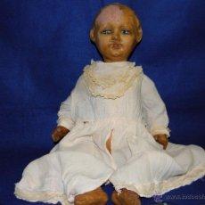 Muñeca española clasica: ANTIGUA MUÑECA DE CARTON PIEDRA. Lote 53183200