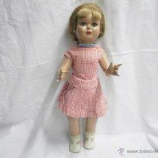 Muñeca española clasica: ANTIGUA MUÑECA BIBIANA Y DOS VESTIDOS ORIGINALES. Lote 53420970