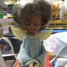 Muñeca española clasica: MUÑECA LINDA PIRULA ANGEL, ONIL (ALICANTE) MUÑECAS DE ALBA, AÑOS 50/60. Lote 53502295