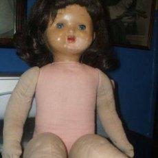 Muñeca española clasica: MUÑECA ANTIGUA MILITINA DE FLORIDO. Lote 53607049