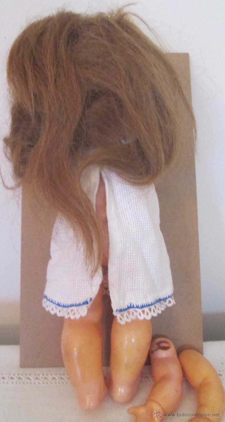 Muñeca española clasica: Antigua muñeca en plástico duro. Mide 29cm - Foto 3 - 53965231