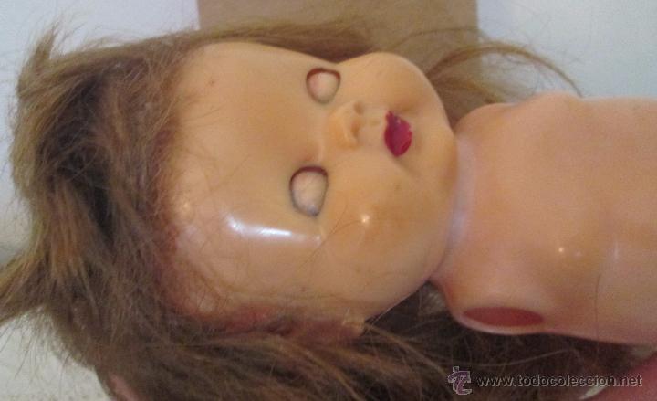 Muñeca española clasica: Antigua muñeca en plástico duro. Mide 29cm - Foto 8 - 53965231
