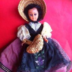 Muñeca española clasica: ANTIGUA MUÑECA REGIONAL. Lote 54119973