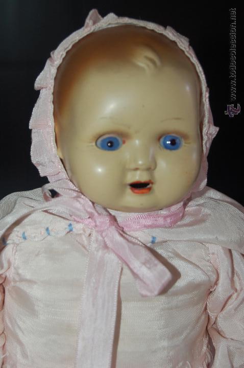 Muñeca española clasica: bebé de composición antiguo - Foto 3 - 54222545