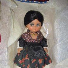Muñeca española clasica: ANTIGUA MUÑECA LINDA PIRULA ATUENDO ARAGONESA DE MUÑECAS DE ALBA A ESTRENAR - AÑO 1950-60S.. Lote 54479844