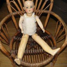Muñeca española clasica: ANTIGUO MUÑECA DE CARTON PIEDRA B.I.. Lote 54520643