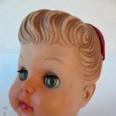 Muñeca española clasica: ANTIGUA CABEZA MUÑECA DE GOMA. Lote 54580687