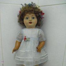 Muñeca española clasica: MUÑECA FLORIDO AÑOS 20/30. Lote 54607420