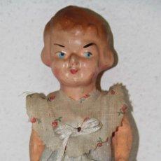 Muñeca española clasica: MU069 MUÑECA. PAPIER MACHÉ. PINTADA A MANO. ESPAÑA. PRINC. S. XX. Lote 53954097