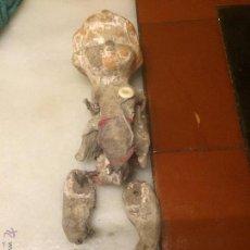 Muñeca española clasica: ANTIGUA MUÑECA PEPONA DE CARTÓN DE LOS AÑOS 20-30 DETERIORADA . Lote 54995025