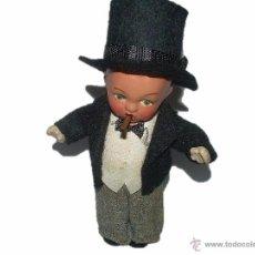 Muñeca española clasica: ANTIGUO MUÑECO DE TERRACOTA.....PERFECTO ESTADO....COMO NUEVO.. Lote 42100289