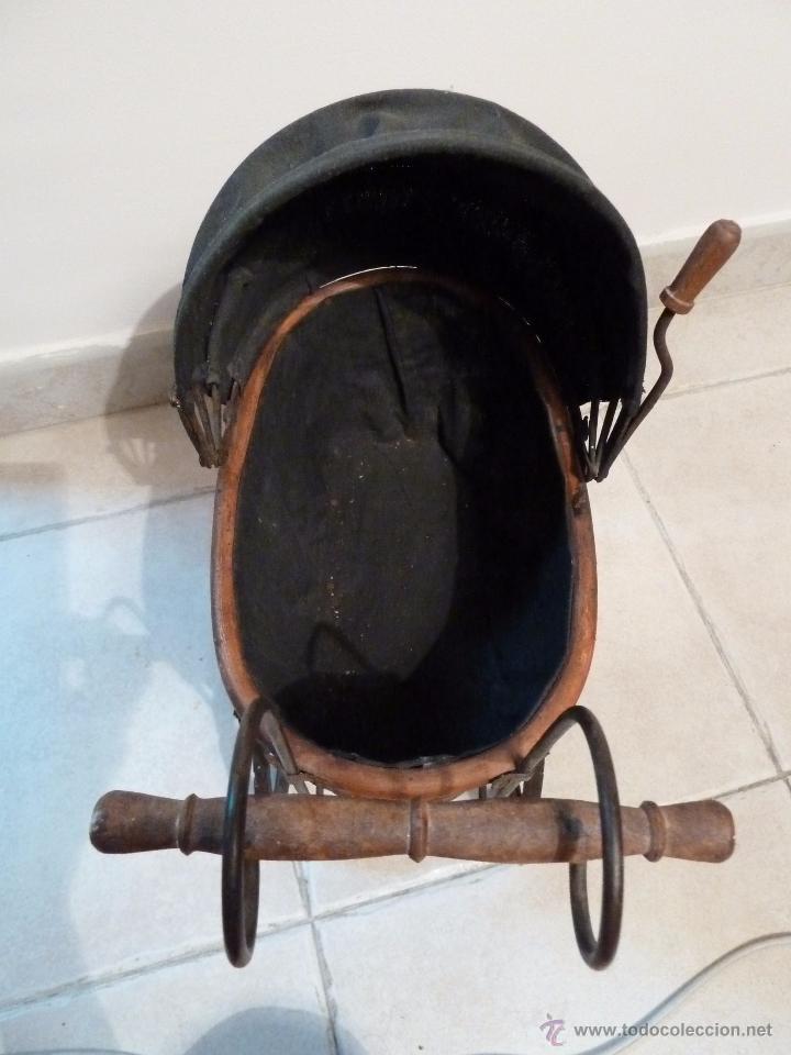 Muñeca española clasica: Carrito de muñecas antiguo - Foto 2 - 191391115