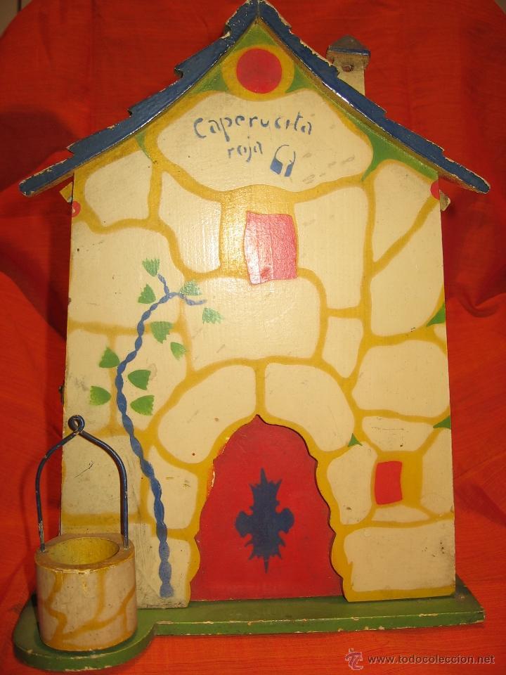 CASA DE CAPERUCITA.DENIA, AÑOS 40-50. (Juguetes - Otras Muñecas Españolas Clásicas (Hasta 1.960))