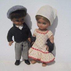 Muñeca española clasica: PRECIOSA PAREJA DE LINDA PIRULA CHULAPA DE MARID, MUÑECAS ALBA. Lote 55098782