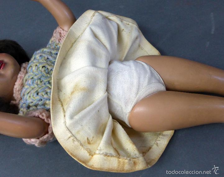 Muñeca española clasica: Muñeca estilo Teresín cartón piedra ojo durmiente años 50 - Foto 11 - 55114533