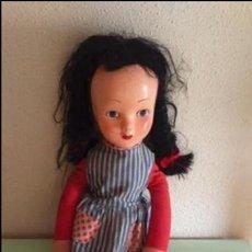 Muñeca española clasica: ANTIGUA MUÑECA CARA PAPEL MACHÉ, CUERPO TELA.. Lote 55156278