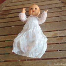 Muñeca española clasica: ANTIGUO MUÑECO BEBOTE EN CARTON PIEDRA??? CLAUDIN DE CLAUDIO REIG ??? PARA RETAURAR DEDO DE UNA MANO. Lote 55227321