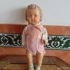 Muñeca española clasica: ANTIGUO MUÑECO EN CARTON PIEDRA PARA RETAURAR PARECE ARTURITO. Lote 55227644