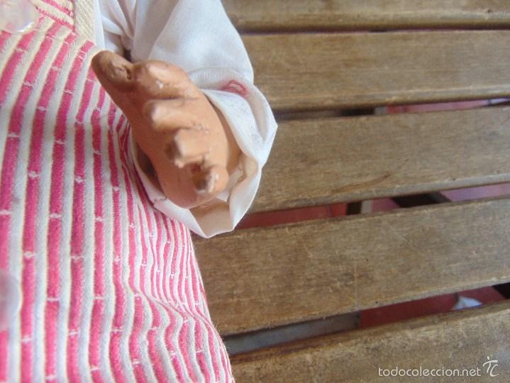 Muñeca española clasica: ANTIGUO MUÑECO EN CARTON PIEDRA PARA RETAURAR PARECE ARTURITO - Foto 3 - 55227644