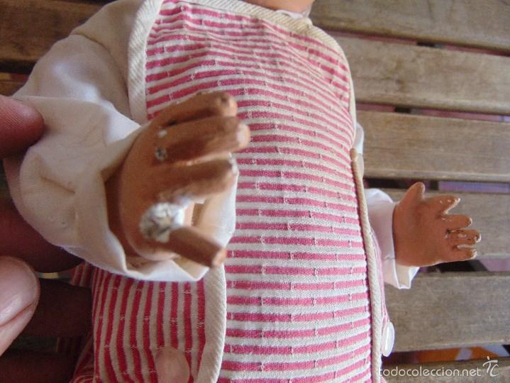 Muñeca española clasica: ANTIGUO MUÑECO EN CARTON PIEDRA PARA RETAURAR PARECE ARTURITO - Foto 4 - 55227644