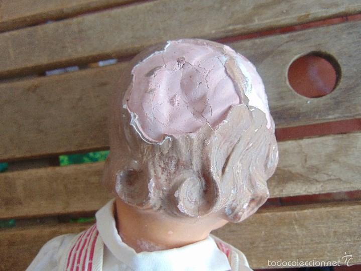 Muñeca española clasica: ANTIGUO MUÑECO EN CARTON PIEDRA PARA RETAURAR PARECE ARTURITO - Foto 7 - 55227644