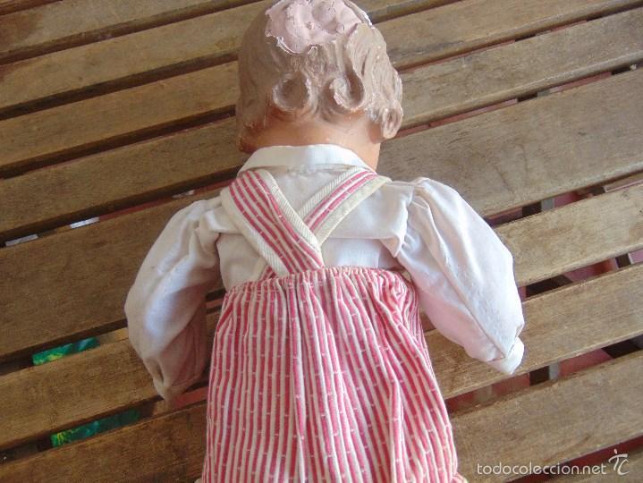 Muñeca española clasica: ANTIGUO MUÑECO EN CARTON PIEDRA PARA RETAURAR PARECE ARTURITO - Foto 10 - 55227644