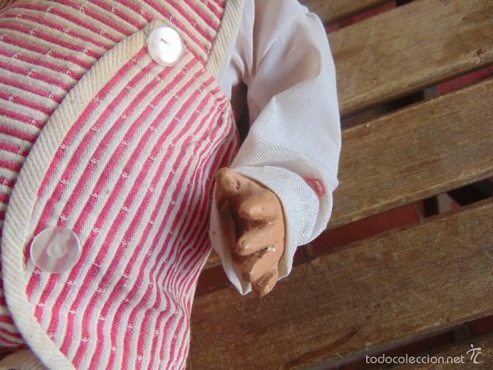 Muñeca española clasica: ANTIGUO MUÑECO EN CARTON PIEDRA PARA RETAURAR PARECE ARTURITO - Foto 19 - 55227644
