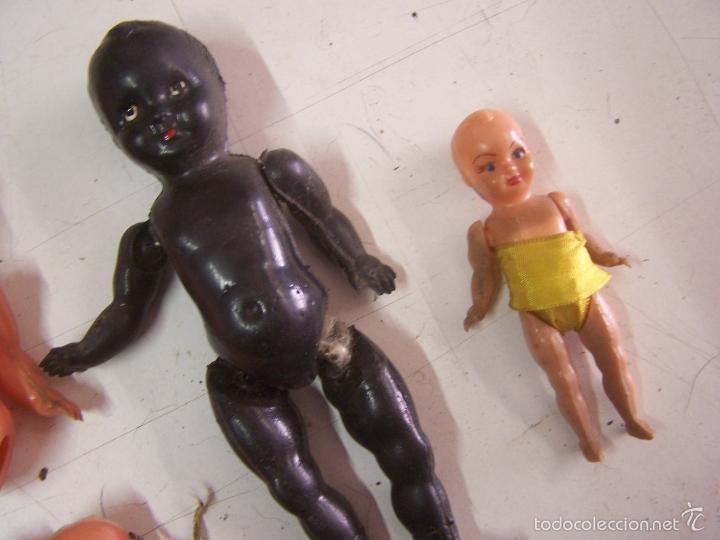 Muñeca española clasica: lote de muñecas antiguas de plastico rígido - Foto 2 - 55703343