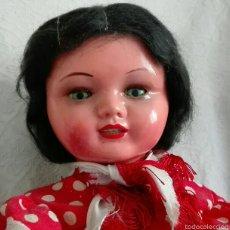 Muñeca española clasica: MUÑECA DE SERAFIN VICENT CALVO COETANA MARIQUITA PEREZ AÑOS 40. Lote 55719055