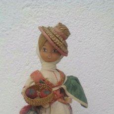 Muñeca española clasica: MUÑECA ARTESANA BEIBI / AUTÉNTICO TRAJE REGIONAL TENERIFE. Lote 55905672