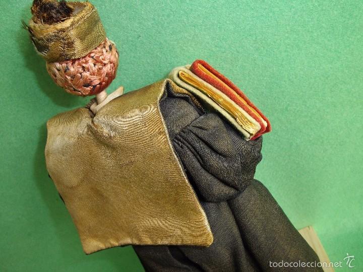 Muñeca española clasica: GENIAL MUÑECO ROLDAN KLUMPE ABOGADO JUEZ MAGISTRADO FIELTRO Y ALAMBRE AÑOS 50 FUMANDO PIPA - Foto 6 - 55951935