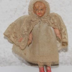 Muñeca española clasica: MU095 MUÑECA EN MINIATURA. CELULOIDE. 8 CM. ESPAÑA. AÑOS 30. Lote 56077118