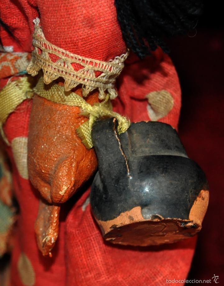 Muñeca española clasica: ANTIGUA MUÑECA DE FIELTRO DE LOS AÑOS 50-60 - Foto 2 - 56118206
