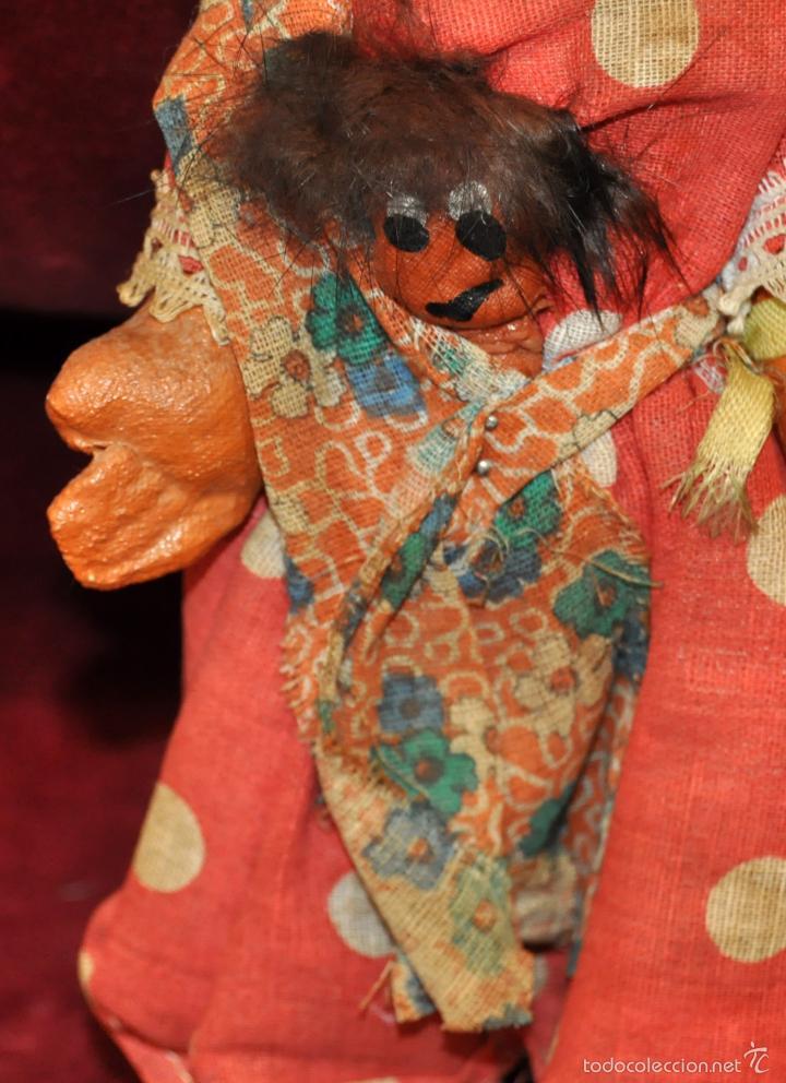 Muñeca española clasica: ANTIGUA MUÑECA DE FIELTRO DE LOS AÑOS 50-60 - Foto 3 - 56118206