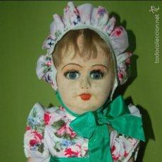 Muñeca española clasica: MUÑECA FLORIDO AÑOS 20. Lote 54222730