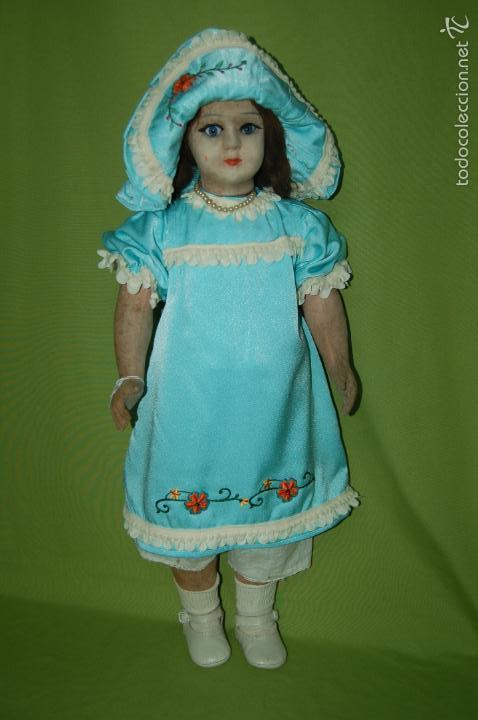 Muñeca española clasica: muñeca de florido años 20 - Foto 11 - 54222836
